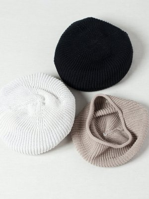 <img class='new_mark_img1' src='https://img.shop-pro.jp/img/new/icons15.gif' style='border:none;display:inline;margin:0px;padding:0px;width:auto;' />【Racal】Rasta Knit Beret (Japanese Paper) / ラスタニットベレー 和紙 -3色展開-