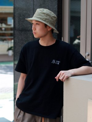 <img class='new_mark_img1' src='//img.shop-pro.jp/img/new/icons15.gif' style='border:none;display:inline;margin:0px;padding:0px;width:auto;' />【Racal】Tamamushi Bucket Hat / 玉虫ギャバ バケットハット -3色展開-