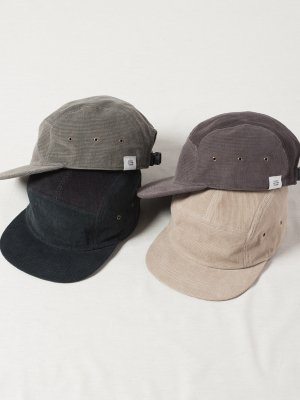 <img class='new_mark_img1' src='https://img.shop-pro.jp/img/new/icons15.gif' style='border:none;display:inline;margin:0px;padding:0px;width:auto;' />【Racal】Flat Visor Corduroy Jet Cap / フラットバイザーコーデュロイジェットキャップ -3色展開-