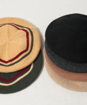 <img class='new_mark_img1' src='https://img.shop-pro.jp/img/new/icons15.gif' style='border:none;display:inline;margin:0px;padding:0px;width:auto;' />【Racal】Rasta Wool Knit Beret / ラスタ ウールニットベレー -6色展開-