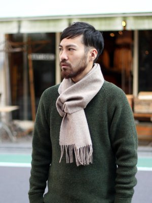 <img class='new_mark_img1' src='//img.shop-pro.jp/img/new/icons20.gif' style='border:none;display:inline;margin:0px;padding:0px;width:auto;' />【40%OFF】 British Lambs Wool Scarf