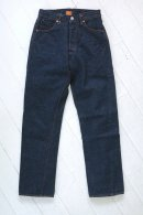 KATO` Back Flap Pocket Straight Denim Pants