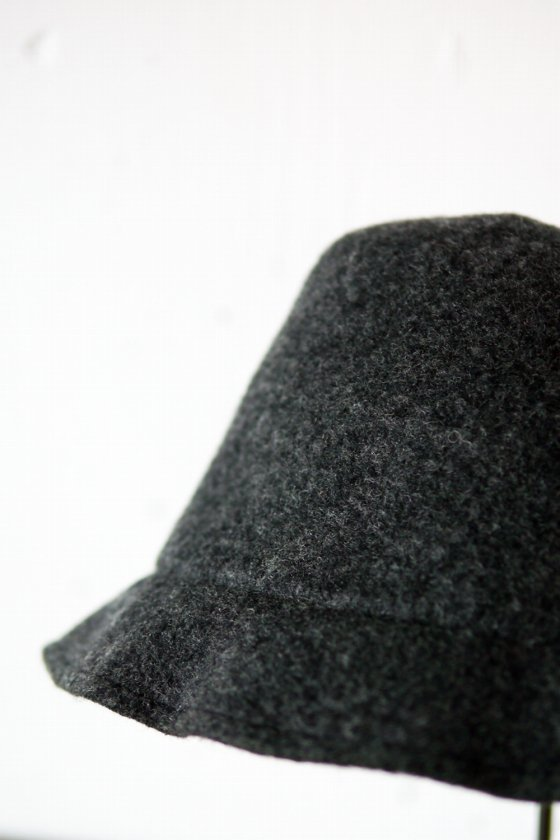 "mature ha. ""tear×drop felt crown hat"" (ladies)"