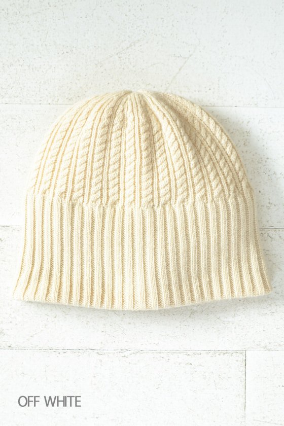 "mature ha. ""long rib knit cap tiny rope lamb"" (mens/ladies)"