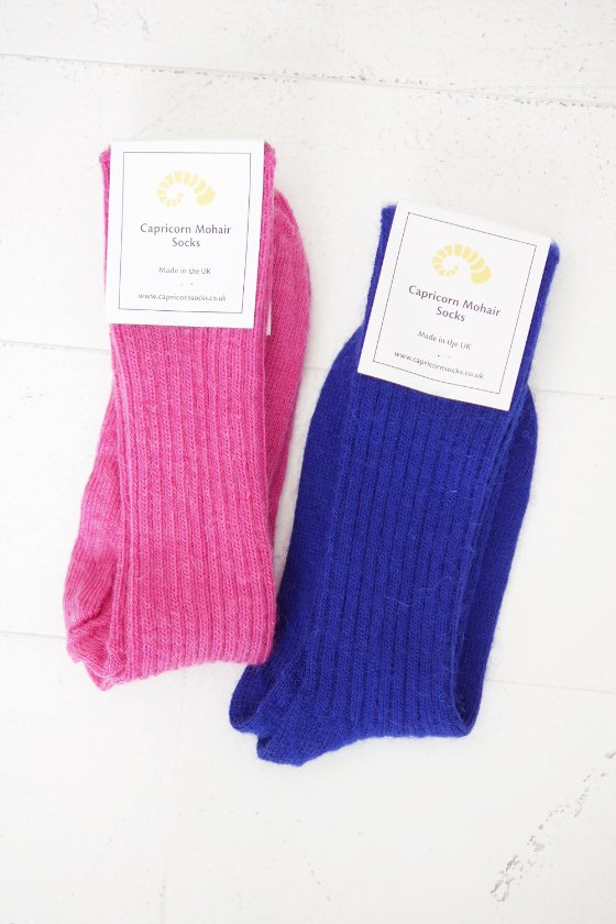 CAPRICORN MOHAIR SOCKS Loose Top Socks (ladies)