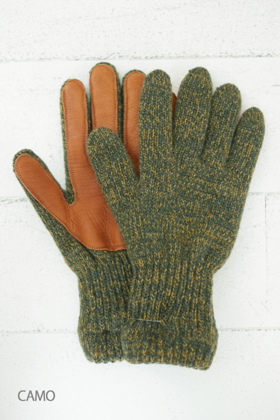 NEWBERRY KNITTING ニットグローブ (mens/ladies)