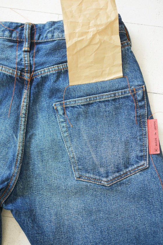 KATO` NEW DENIM 5Pocket Narrow Straight Fit