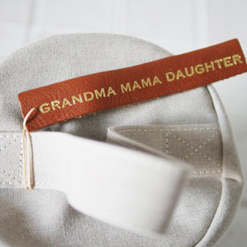MARINEDAY × GRANDMA MAMA DAUGHTER バニティバッグ (ladies)