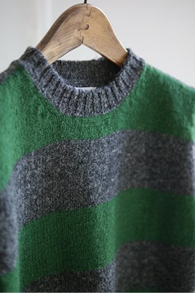 KATO`× JAMIESON'S Shetland Border Knit (mens/ladies)