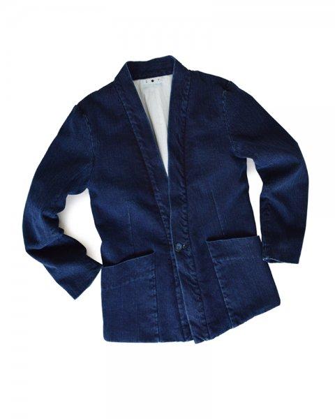≪義志≫大和羽織 型第6「ヤスリ」藍