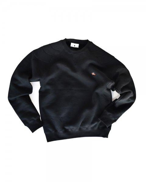 ≪義志≫かぶり丸襟羽織 型第3 「馬上の侍」  黒