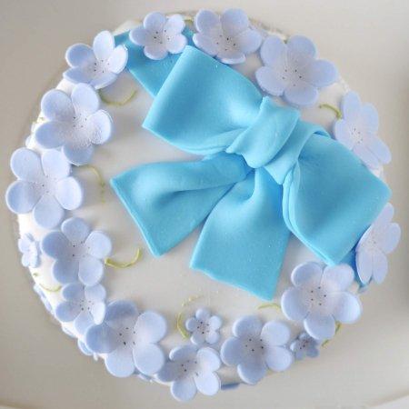 ネモフィラのケーキ