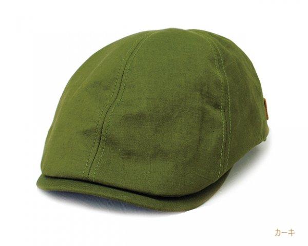 CH550 Bebro メンズ 帽子 リネン×コットン ハンチング