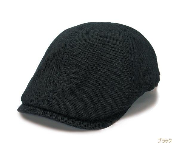 CH509 Bebro メンズ 帽子 リネン ハンチング