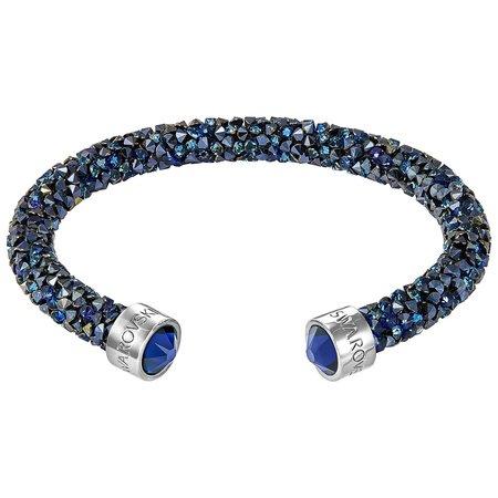スワロフスキー Swarovski 『Crystaldust カフ, Blue, S』 5255911