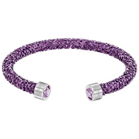 スワロフスキー Swarovski 限定品 『Crystaldust カフ, Purple, S』 5292447