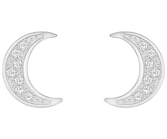 スワロフスキー Swarovski 『Crystal Wishes Moon ピアス』 5278383