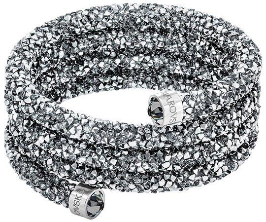 スワロフスキー Swarovski 『Crystaldust Wide バングル, M』 5277588