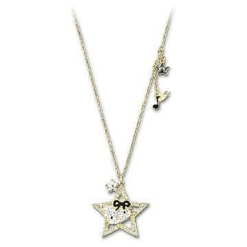 スワロフスキー Swarovski 『Hello Kitty Rock Star ペンダント, ゴールドコーティング』 1170297