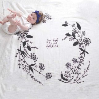 <img class='new_mark_img1' src='https://img.shop-pro.jp/img/new/icons1.gif' style='border:none;display:inline;margin:0px;padding:0px;width:auto;' />Organic Cotton Swaddle - Garland