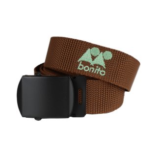 bonito Logo GI Belt Brown