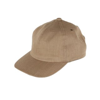 Linen Low Cap Beige