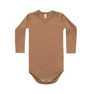 Ribbed LS Onesie Copper 3m-18m