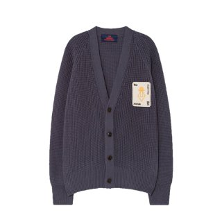 Navy Blue Racoon Cardigan 3-8Y