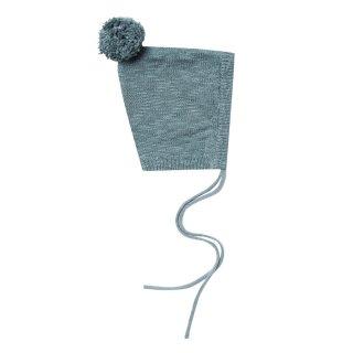 Pixie Hat Dusty blue 6-18m