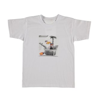 T-shirt - Swim White 3-8Y