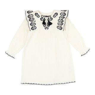 Dress Laurette White 3-8Y