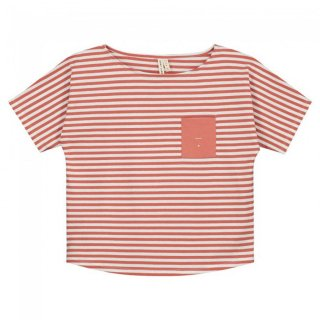 Pocket Tee Faded Red - kids 2Y-8Y