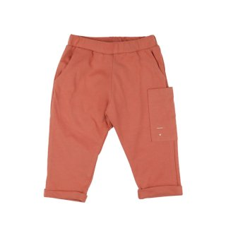 Pocket Trousers Faded Red  - baby  12-24m