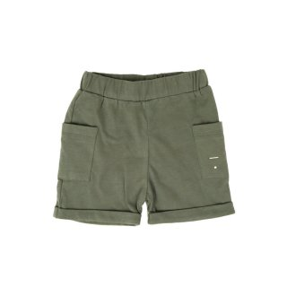 Pocket Shorts Moss - baby  12-24m