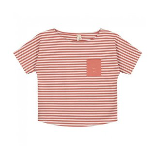 Pocket Tee Faded Red - baby  12-24m