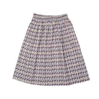 Cotton Skirt Geo 4-10Y