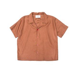 Zinnia Shirt Brown 4-10Y