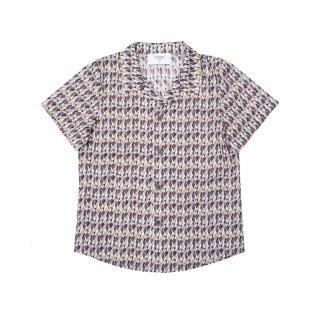 Cotton Shirt Geo 4-10Y