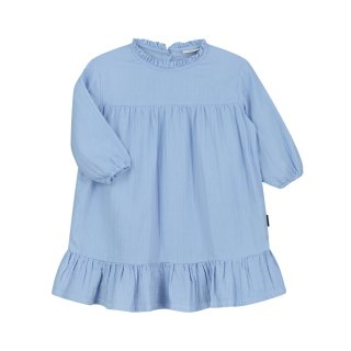Louis ruffle dress serenity blue 2-8Y