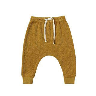 <img class='new_mark_img1' src='https://img.shop-pro.jp/img/new/icons1.gif' style='border:none;display:inline;margin:0px;padding:0px;width:auto;' />Terry Cloth Sweatpants Ocre 6m-24m
