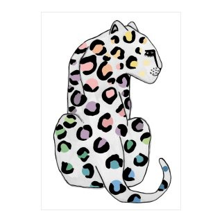 <img class='new_mark_img1' src='https://img.shop-pro.jp/img/new/icons1.gif' style='border:none;display:inline;margin:0px;padding:0px;width:auto;' />Leopard SPOTS Rainbow Children's Print