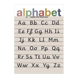 Alphabet Muted Children's Print