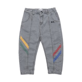 <img class='new_mark_img1' src='https://img.shop-pro.jp/img/new/icons1.gif' style='border:none;display:inline;margin:0px;padding:0px;width:auto;' />Multicolor Denim Trousers 2Y-7Y