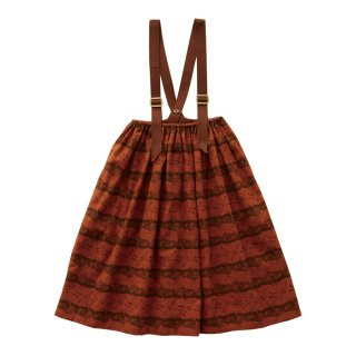 <img class='new_mark_img1' src='https://img.shop-pro.jp/img/new/icons1.gif' style='border:none;display:inline;margin:0px;padding:0px;width:auto;' />Castle printed skirt  Brick red 90-130