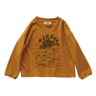 MIRAgE town long sleeve-T mustard 90-130