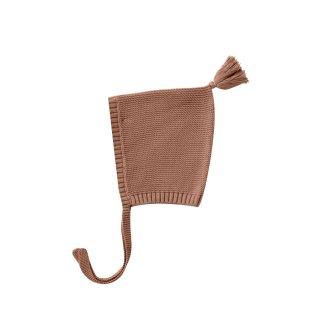 【Last one! 3-6m】Knit Pixie Bonnet clay