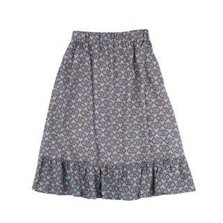 Viscose Skirt Sage Grey 4Y-10Y