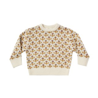 <img class='new_mark_img1' src='https://img.shop-pro.jp/img/new/icons1.gif' style='border:none;display:inline;margin:0px;padding:0px;width:auto;' />Flower Stitch Knit Pullover 12m-7y