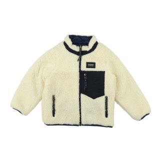 Reversible jacket Navy x Ivory 100-130
