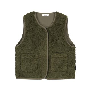<img class='new_mark_img1' src='https://img.shop-pro.jp/img/new/icons1.gif' style='border:none;display:inline;margin:0px;padding:0px;width:auto;' />Teddy vest forest green 2Y-8Y